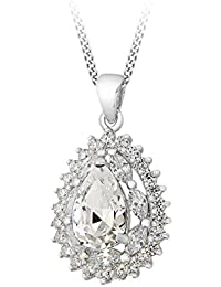 Tuscany Silver - Pendentif avec Collier Femme - Argent Sterling 925