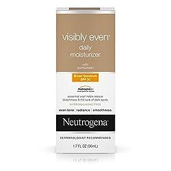 Neutrogena Visibly Even Daily Moisturizer, SPF 30, 1.7 Ounce