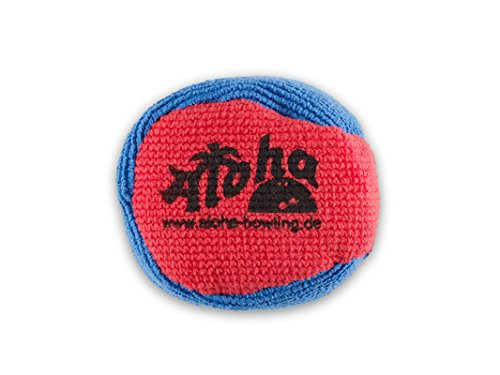 Aloha Bowling Microfiber Grip Ball (Rot/Blau)