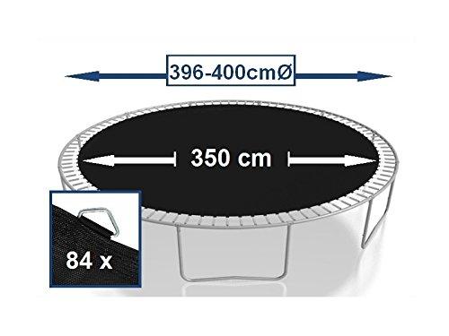 Sprungtuch Sprungmatte Ersatzteile für Trampolin Ø 396 cm 84 Ösen (Federn 16,5 cm) - 2