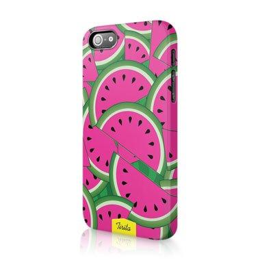 Tirita Handyschutzhülle aus gehärtetem Kunststoff, niedliches Design mit Obst und Gemüse, plastik, 02, Iphone 7 Plus 2 Obst-dessert