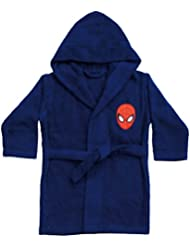 CTI 042393 Peignoir Spiderman Peter 6/8 Ans Coton 33 x 25 x 6 cm