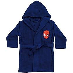 CTI - Marvel - Peignoir Spiderman Peter 6/8 Ans Coton 33 x 25 x 6 cm - 042393