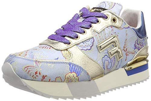 Replay Damen WILLWOOD Sneaker, Blau (Blue 10), 40 EU