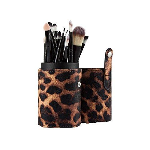 Saingace 20PCS Pinceaux de Maquillage Outils de Maquillage Fard à Paupières Brosse Fard à Joues Anticernes de Pinceau/Noir