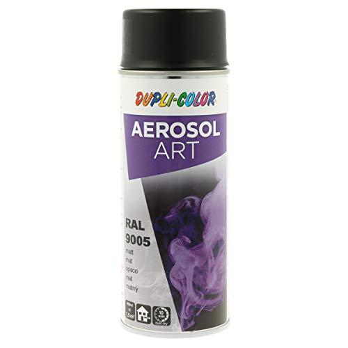 DUPLI-COLOR 733161 Aerosol Art, RAL 9005 Schwarz matt