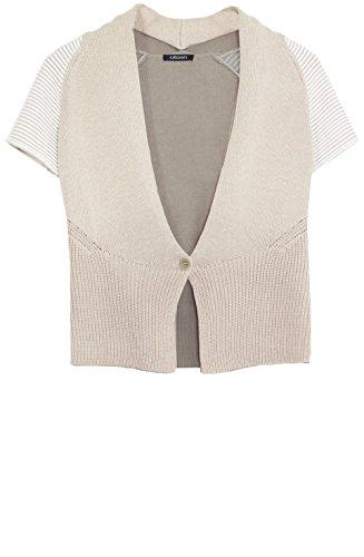 Olsen Cardigan tricot Crème Jaune - Crème