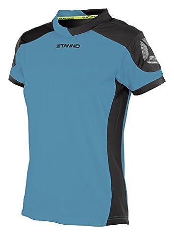 Stanno Women's Campione Short Sleeve Football Shirt Aqua Blue /