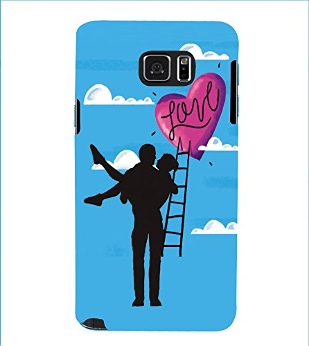 PrintVisa Designer Back Case Cover for Samsung Galaxy Note 5 :: Samsung Galaxy Note 5 N920G :: Samsung Galaxy Note5 N920T N920A N920I (Animated Valentines Couple)