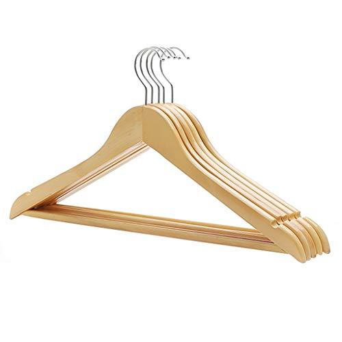 ShenZuYangShop Kleiderständer Kleiderbügel Hochwertige Massivholz Kleidung Requisiten Anzug Kleiderbügel Kinderkleidung Erwachsene Tragen Holz Rutschfeste Kleiderbügel (30 Kleiderbügel)