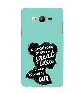 EPICCASE Let it out Mobile Back Case Cover For Samsung Galaxy On7 (Designer Case)