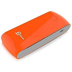 JETech 0754-PB-6000-OR 6000mAh Arancione, Bianco batteria portatile