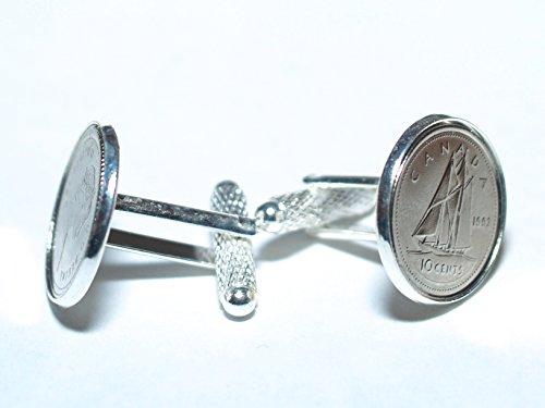 199522° compleanno/anniversario Canadian Dime gemelli-Canadian Dime gemelli da 1995per un