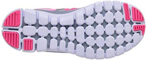 Nike Flex 2014 Rn 642755 Jungen Laufschuhe Training Pink (Hypr Pnk/Hypr Pnk-Mgnt Gry-Mtl)