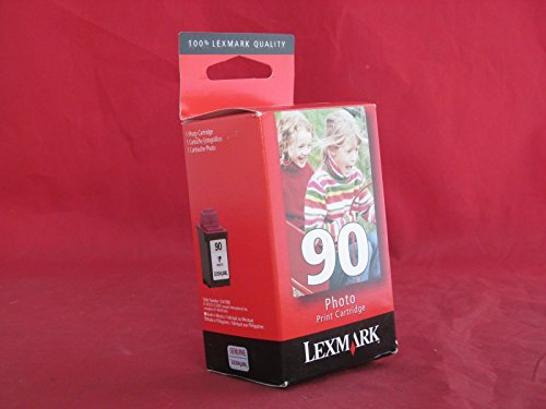 Lexmark 90 (12A1990) Photo OEM Genuine Inkjet/Ink Cartridge (450 Yield) (Storage Unit Included) - Retail by Lexmark -