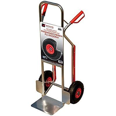 pro-bau-tec Aluminium Sackkarre mit Treppenrutsche und PU Rädern 150 kg, 10060 von pro-bau-tec bei Du und dein Garten