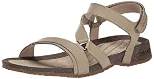 Teva Damen Cabrillo Crossover Sandale, 36.5 B(M) EU, Düne