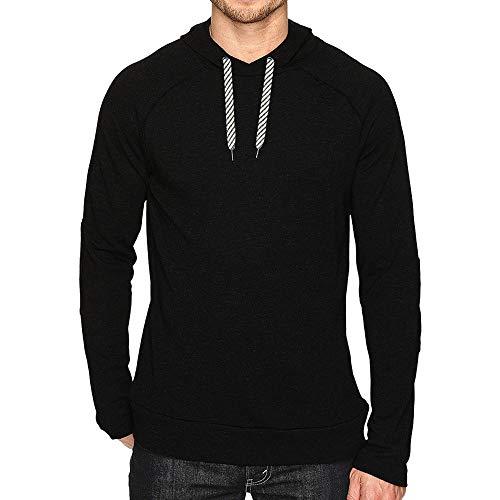 ed8c1738cd Styledresser a Buon Mercato Camicie da Uomo,Pullover Uomo Collo Alto Felpa  con Cappuccio A Manica Lunga Raglan Sportiva da Uomo Autunno Inverno Casual