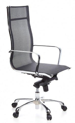 Hjh office emilia sedia da ufficio poltrona presidenziale for Sedia ufficio xxl