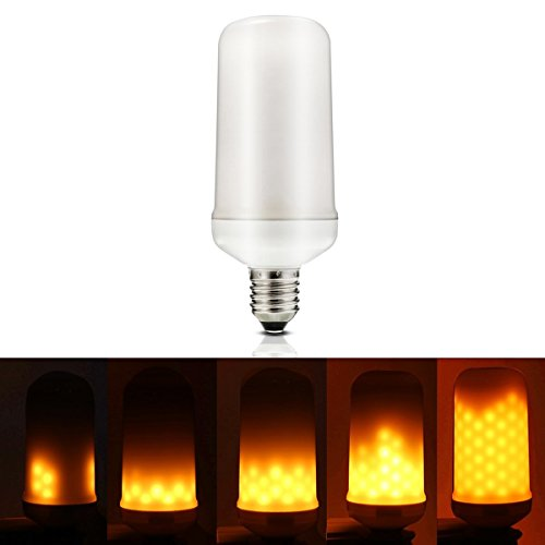 Starry Night Acrylic LED Flame Effect Light Bulb (Yellow, 3W, 200 lumens)