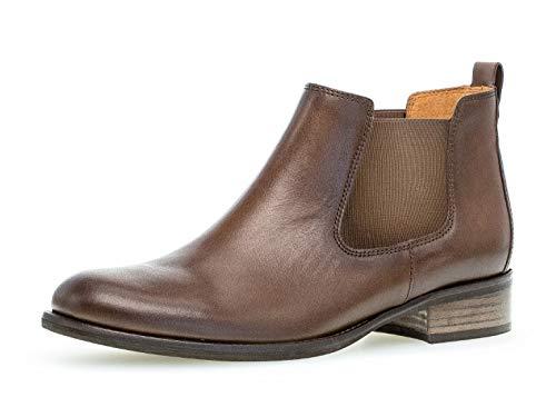 Gabor Damen Stiefelette/Röhrli 31.640, Frauen Chelsea Boots,Stiefel,Halbstiefel,Bootie,Schlupfstiefel,flach,Mohair (Effekt),38 EU / 5 UK