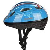 YIYUAN Kids Cycle Helmet for Bike Riding Safety,Bleu 02,S(52-56 cm)