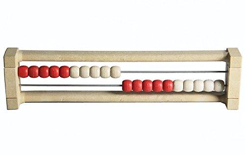Schüler-Rechenrahmen 20er Zahlenraum Abacus Abakus Rechenschieber Grundschule Mathematik Zählrahmen Rechenhilfe Grundrechenarten Rechenmaschine Rechnen lernen 1.Klasse