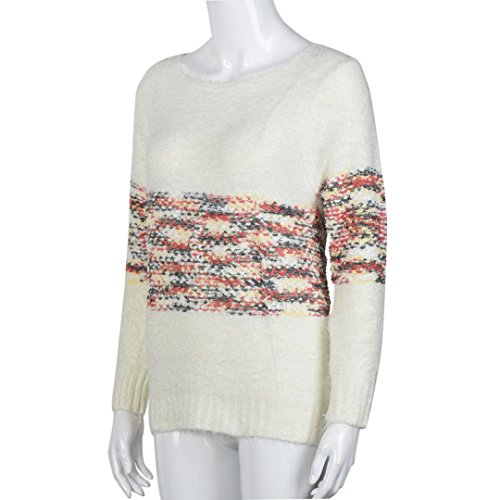 Transer - Pull - Femme Whtie taille unique Blanc
