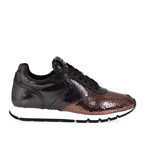 VOILE BLANCHE Sneakers Donna 0012011723019104 Pelle Nero