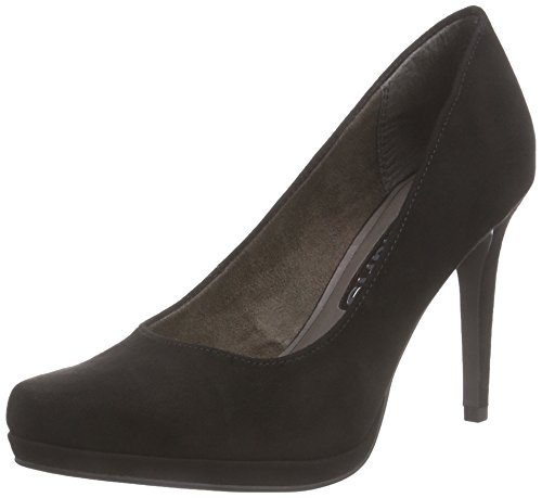 Tamaris 22446, Damen Plateau Pumps, Schwarz (BLACK 001), 36 EU