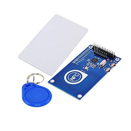 tolako 13.56MHz PN532NFC Reader und Writer NFC Karte Modul Set für ARDUINO Raspberry Pi mit IC Karte und Schlüssel Tag