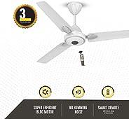 Atomberg Efficio+ 1200 mm BLDC Motor with Remote 3 Blade Anti-Dust Ceiling Fan