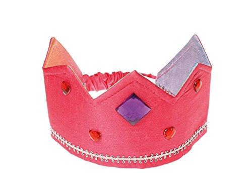 Grimms-83056-Krone-mit-Gummiband-wendbar-rosaregenbogen
