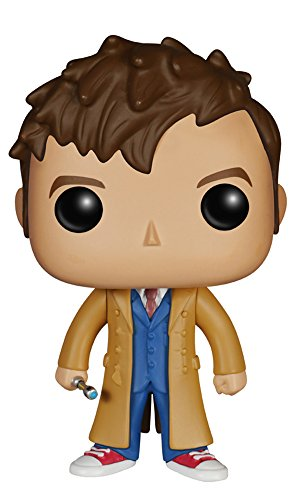 Funko - Figurine Doctor Who - 10e Doctor Pop 10cm - 0849803046279