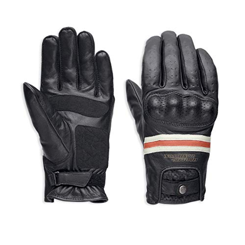 HARLEY-DAVIDSON® Men's Reaver Leather Gloves - 98178-18EM
