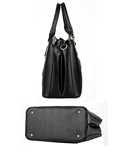 366749a2ba035 Menschwear Damen Handtasche Marken Handtaschen Elegant Taschen Shopper  Reissverschluss Frauen Handtaschen SkyBlau Schwarz