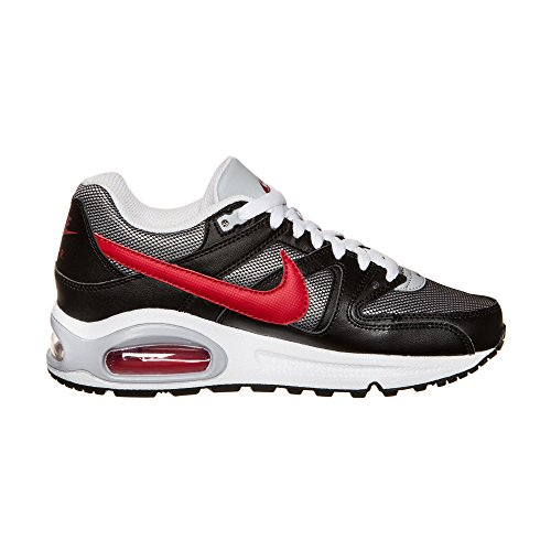 Nike Air Max Command (Gs) 407759 Jungen Laufschuhe Wolf Grey/Gym Red-Black-White