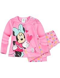 Disney Minnie Set, Zweiteiler, Glitzerdruck, pink, Gr. 62-92