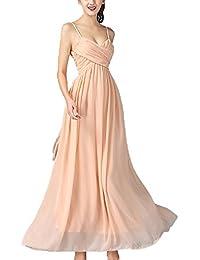 e4550dbd0da6 Suchergebnis auf Amazon.de für  kleid apricot - Maxi   Kleider ...