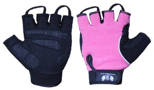BOOM-Ladies-GEL-Cycling-Gloves-Fitness-Gym-Weightlifting-Wheel-Chair-FREE-UK-SHIPPING