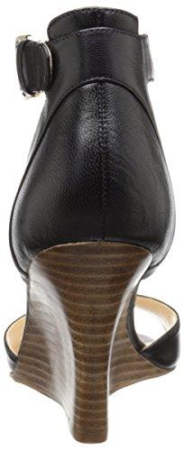 Nine West Farlee cuir Wedge Sandal Black
