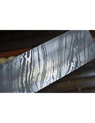 Barre d'acier de Damas pour fabrication de couteau 200 couches minimum 254 x 38 x 4 mm