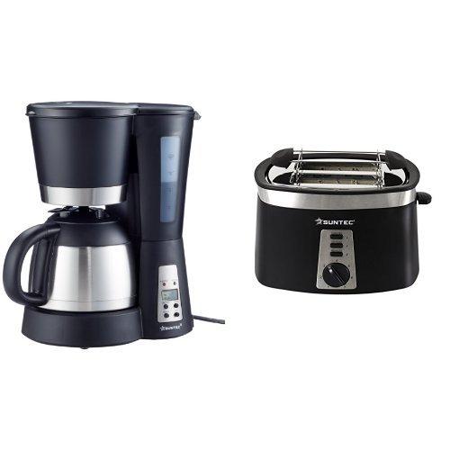HOME Essentials - Kaffeemaschine KAM-9004 [Mit Timer-Programmierung + Anti-Tropf-Feature,...