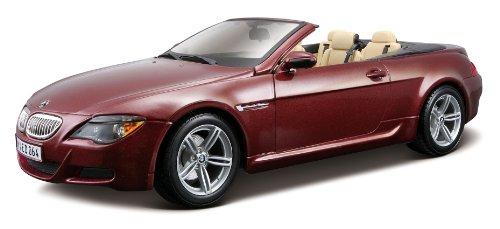 Preisvergleich Produktbild Maisto 531145 - BMW M6 Cabriolet (Maßstab 1:18) (farblich sortiert)