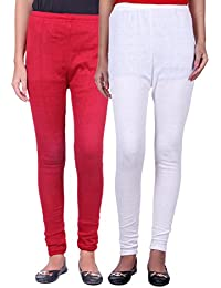 Belmarsh Warm Leggings - Pack of 2 (Maroon_White)