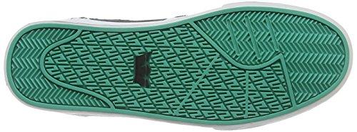 Supra - Vaider 3000, Sneaker alte Unisex - Adulto Nero (Schwarz (BLACK  / ATLANTIS - OFF WHITE   BLK))