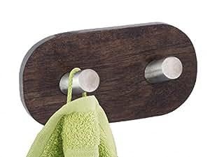 wenko wandhaken duo bellingo ohne bohren edelstahl. Black Bedroom Furniture Sets. Home Design Ideas