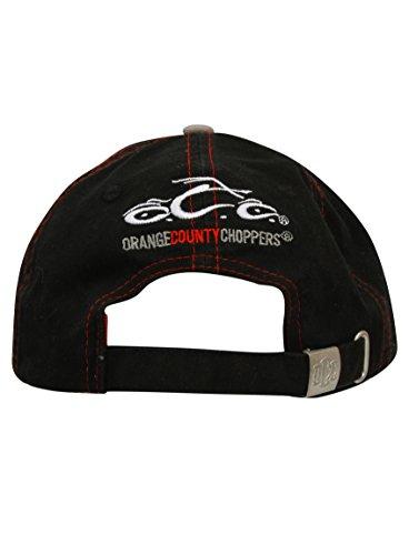 e971b2778180 Die Beste OCC Orange County Choppers Cap Washed Distressed OCC Round ...