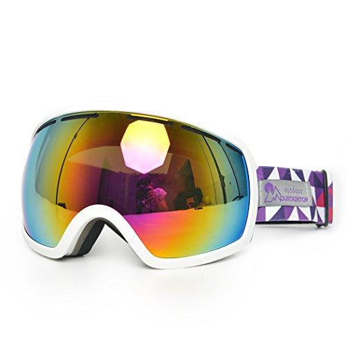 Mountaintop Skibrille Snowboardbrille Schneebrille Wintersport Brille