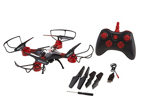 Revell Control 23876 - Long Flight RC Quadrocopter mit HD-Kamera, lange Flugzeit, ferngesteuert mit 2.4 GHz Fernsteuerung, leicht zu fliegen durch Höhensensor mit Headless-Mode, wechselbarer Akku